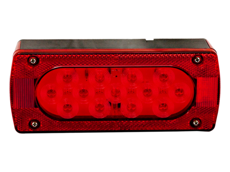Rectangular Combination Right Trailer Light - Heavy Duty Lighting