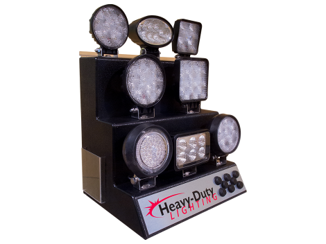 LED Work Light Display - Heavy Duty Lighting