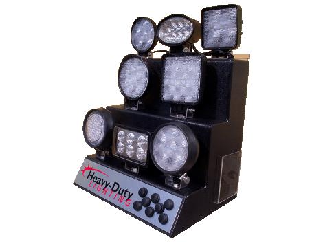 LED Work Light Display - Heavy Duty Lighting