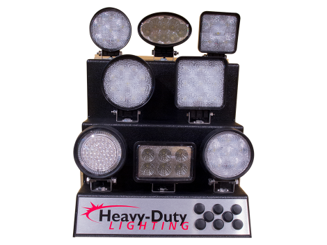 LED Work Light Display - Heavy Duty Lighting Products