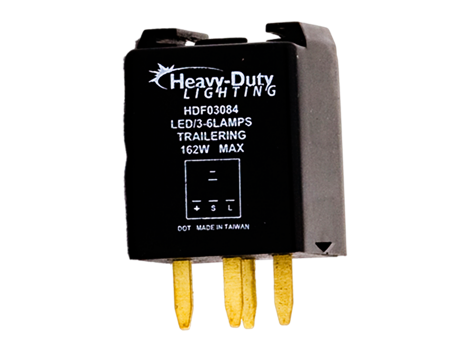 4 Pin Electronic LED Flasher - Heavy Duty Lighting Products