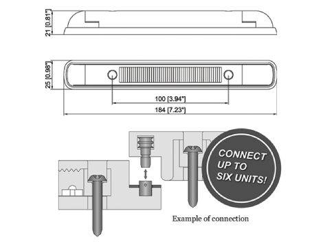 """7"""" Easy Connect Auxiliary Light - Heavy Duty Lighting"""