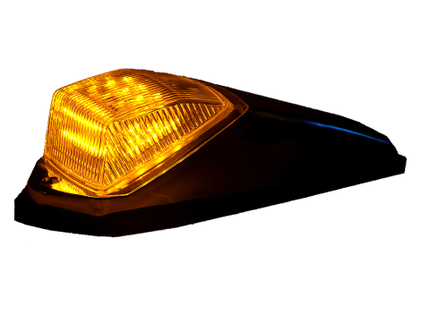 "3"" X 11"" Square Cab Marker Light - Heavy Duty Lighting (en-US)"