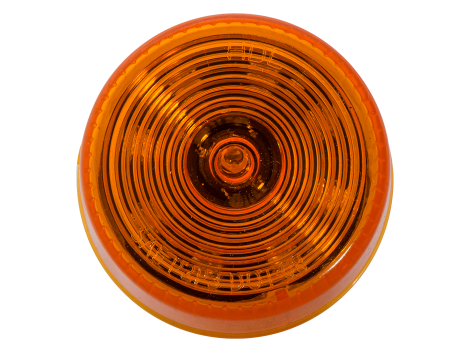 "2"" Round Amber Clearance Marker Light  - Heavy Duty Lighting (en-US) Products"