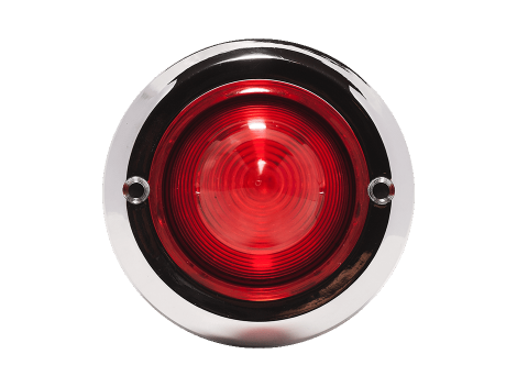 "2"" Chrome Plastic Bezel - Heavy Duty Lighting (en-US)"