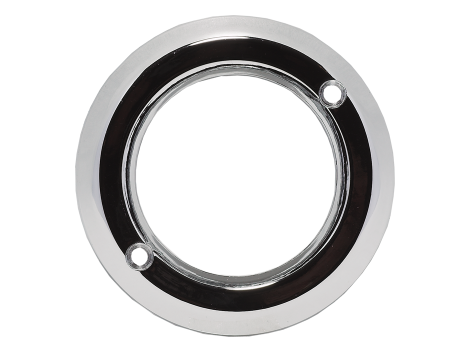"2"" Chrome Plastic Bezel - Heavy Duty Lighting (en-US) Products"
