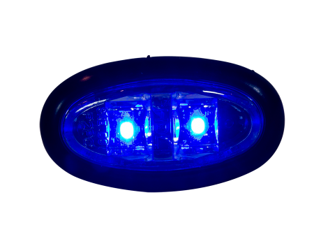 Mini Oval LED Clearance Marker Light - Heavy Duty Lighting (en-US)