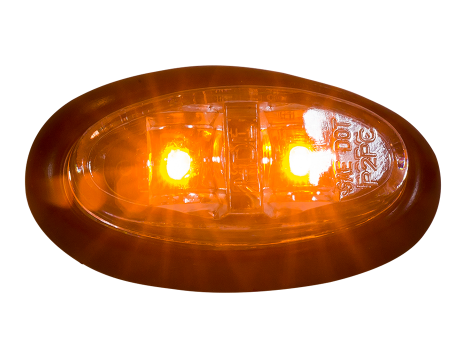 Mini Oval Clearance Marker Light - Heavy Duty Lighting (en-US)