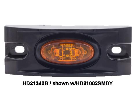 Black ABS Branch Deflector For Mini Lights - Heavy Duty Lighting (en-US)