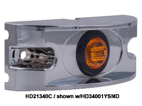 Chrome ABS Branch Deflector For Mini Lights - Heavy Duty Lighting (en-US)