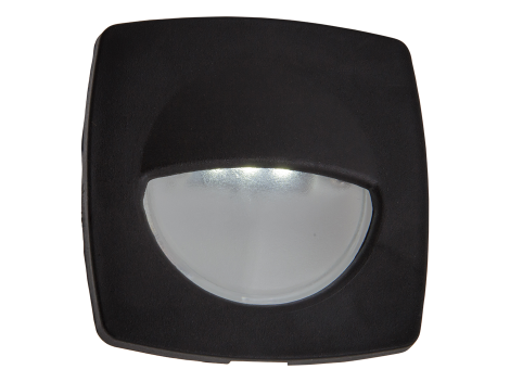 "2.2"" Square LED Interior Courtesy Light with Black Body - Heavy Duty Lighting (en-US)"