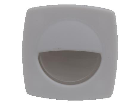 "2.2"" Square LED Interior Courtesy Light with White Body - Heavy Duty Lighting (en-US)"