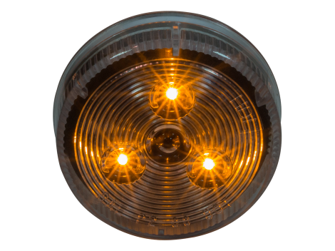 "2.5"" Round LED Clearance Marker Light - Heavy Duty Lighting (en-US) Products"