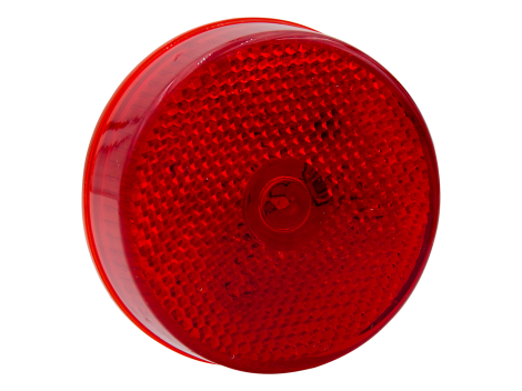 "2.5"" LED Flush Mount Reflex Lens Clearance Marker Light - Heavy Duty Lighting (en-US)"