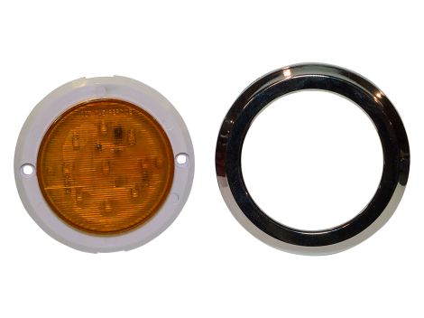 "2.5"" LED Surface Mount Clearance Marker Light - Heavy Duty Lighting (en-US)"
