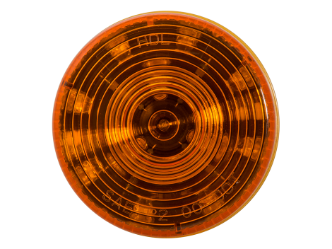 "2.5"" Round Amber Clearance Marker Light  - Heavy Duty Lighting (en-US)"