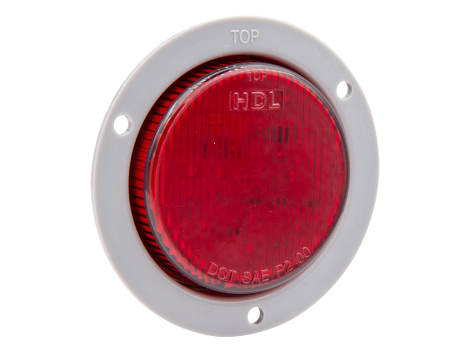 "2.5"" LED Clearance Marker with ABS Flange - Heavy Duty Lighting (en-US)"