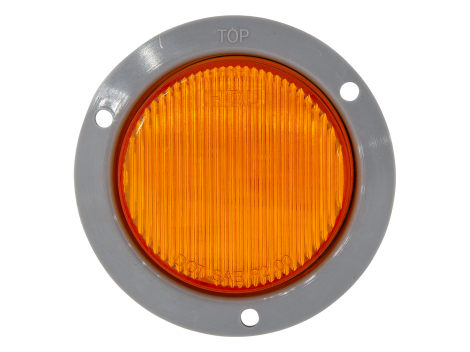 """2.5"""" LED Clearance Marker with ABS Flange - Heavy Duty Lighting (en-US)"""
