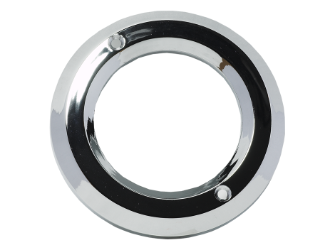 "2.5"" Chrome Plastic Bezel - Heavy Duty Lighting (en-US) Products"