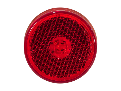 "2.5"" Flush Mount Reflex Lens Clearance Marker Light - Heavy Duty Lighting (en-US)"