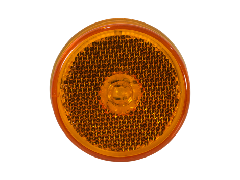 "2.5"" Flush Mount Reflex Lens Clearance Marker Light - Heavy Duty Lighting (en-US) Products"