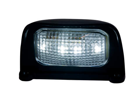 "3"" LED License Plate Light with Black ABS Housing - Heavy Duty Lighting (en-US) Products"