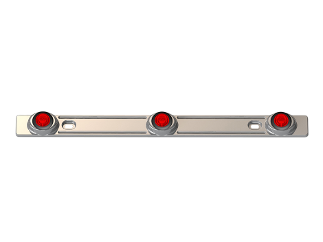 3 Light Stainless Steel ID Bar - Heavy Duty Lighting (en-US) Products