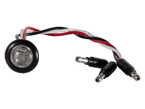 Mini Round 3-Wire Clearance Turn Marker Light - Heavy Duty Lighting (en-US)