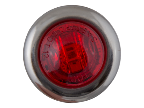 "3/4"" Mini Round Clearance Marker Light with Stainless Bezel - Heavy Duty Lighting (en-US) Products"