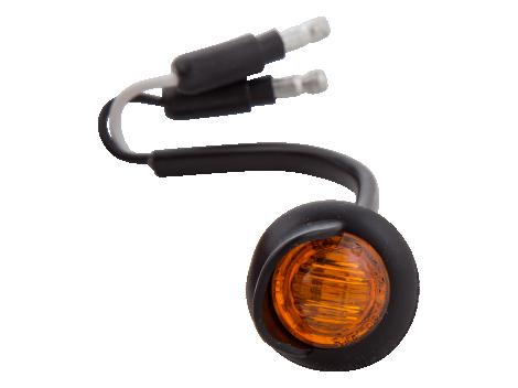 Mini Round LED Clearance Marker Light - Heavy Duty Lighting (en-US)
