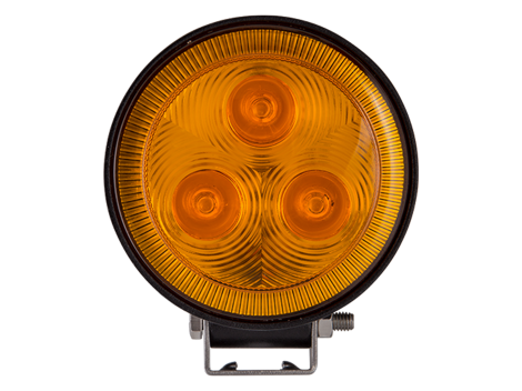 3 LED Mini Round Spot Light / Amber Lens - Heavy Duty Lighting (en-US) Products