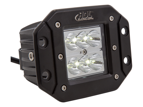 High Output Mini Flush Mount Work Light - Heavy Duty Lighting (en-US)