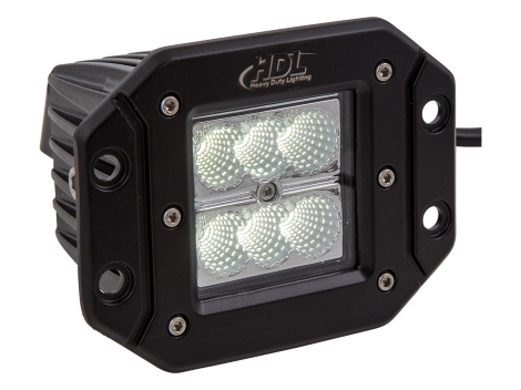 High Output Mini Flush Mount Work Light - Heavy Duty Lighting (en-US) Products