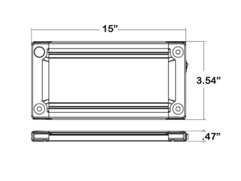 "15"" Low Profile LED Interior Light - Heavy Duty Lighting (en-US)"
