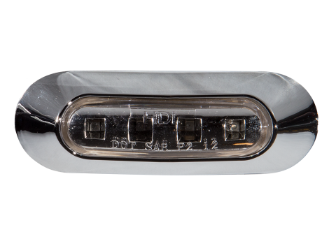 "3.75"" Oval Clearance Marker Light - Heavy Duty Lighting (en-US) Products"