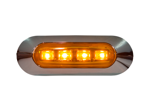"3.75"" Oval Clearance Marker Light - Heavy Duty Lighting (en-US)"