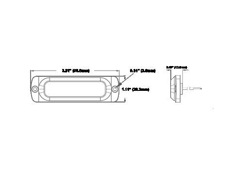 Ultra Thin Surface Mount LED Strobe Lighthead - Heavy Duty Lighting (en-US)