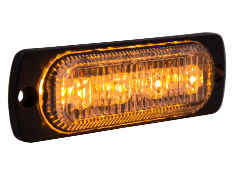 Ultra Thin Amber Surface Mount LED Strobe Lighthead - Heavy Duty Lighting (en-US) Products