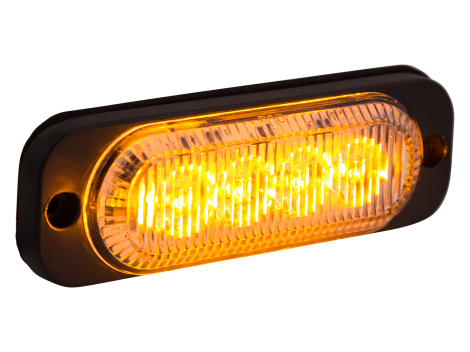 Ultra Thin Amber Surface Mount LED Strobe Lighthead - Heavy Duty Lighting (en-US)