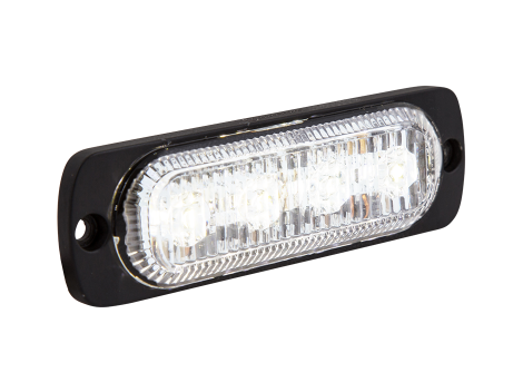 Ultra Thin White Surface Mount LED Strobe Lighthead - Heavy Duty Lighting (en-US) Products