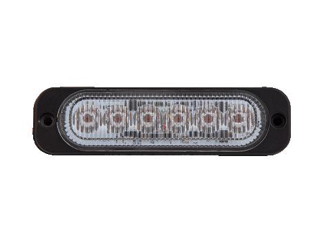 Ultra Thin Amber Surface Mount LED Strobe Lighthead - Heavy Duty Lighting (en-US)