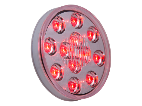 "4"" Round LED Stop Tail Turn Light - Heavy Duty Lighting (en-US)"