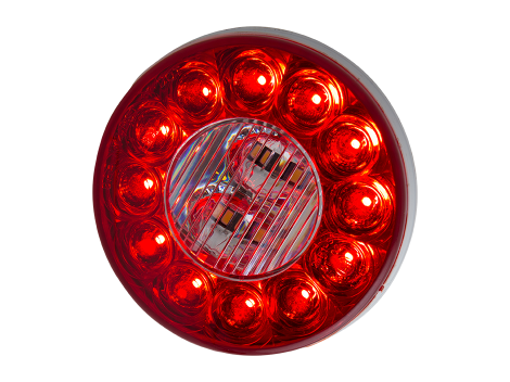 "4"" Round Combination Stop Tail Turn with Backup Light - Heavy Duty Lighting (en-US)"
