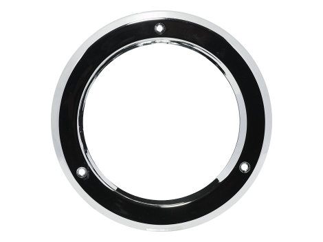"4"" Chrome Plastic Bezel - Heavy Duty Lighting (en-US) Products"