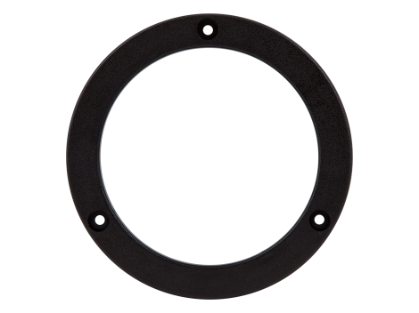 "4"" Round Black Snap Flange - Heavy Duty Lighting (en-US) Products"