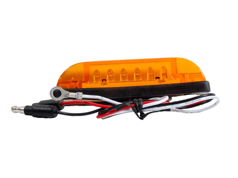 "4"" Slim Line 3 Wire LED Clearance Marker Light - Heavy Duty Lighting (en-US) Products"