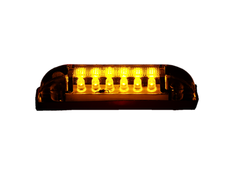 "4"" Slim Line 2 Wire Clearance Marker Light - Heavy Duty Lighting (en-US)"