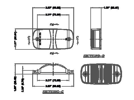 "4"" LED Clearance Marker Turn Light - Heavy Duty Lighting (en-US)"