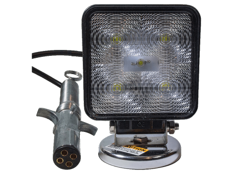 High Output Square Magnetic Base Work Light - Heavy Duty Lighting (en-US) Products