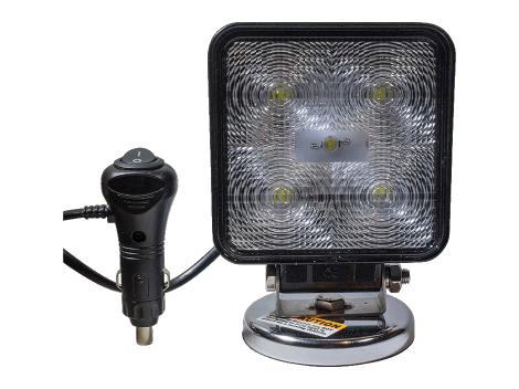 High Output Square Magnetic Base LED Work Light - Heavy Duty Lighting (en-US) Products